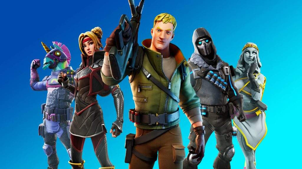 Fortnite will be released on PS5 and Xbox Serie X at launch said Epic Games.