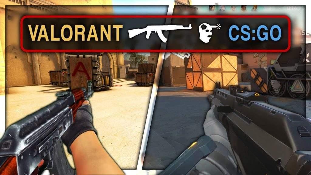 counter strike vs valorant