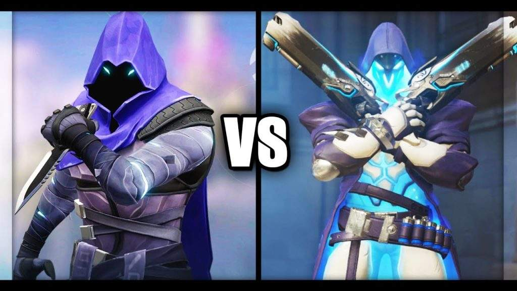 Overwatch vs Valorant