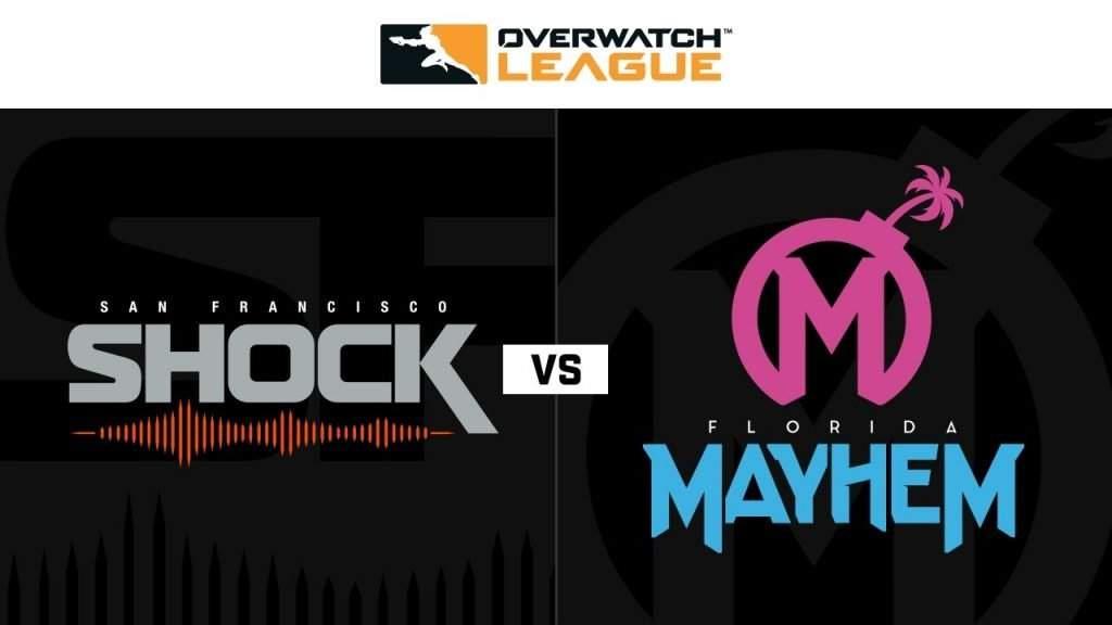 Florida Mayhem vs San Francisco Shock