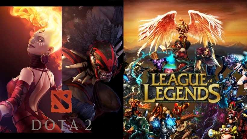 League of Legends Vs. Dota 2