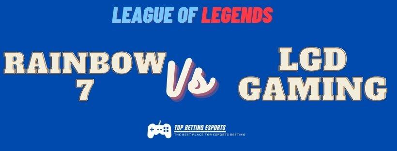 Esports betting tips: LOL Worlds prediction LGD gaming vs Rainbow 7