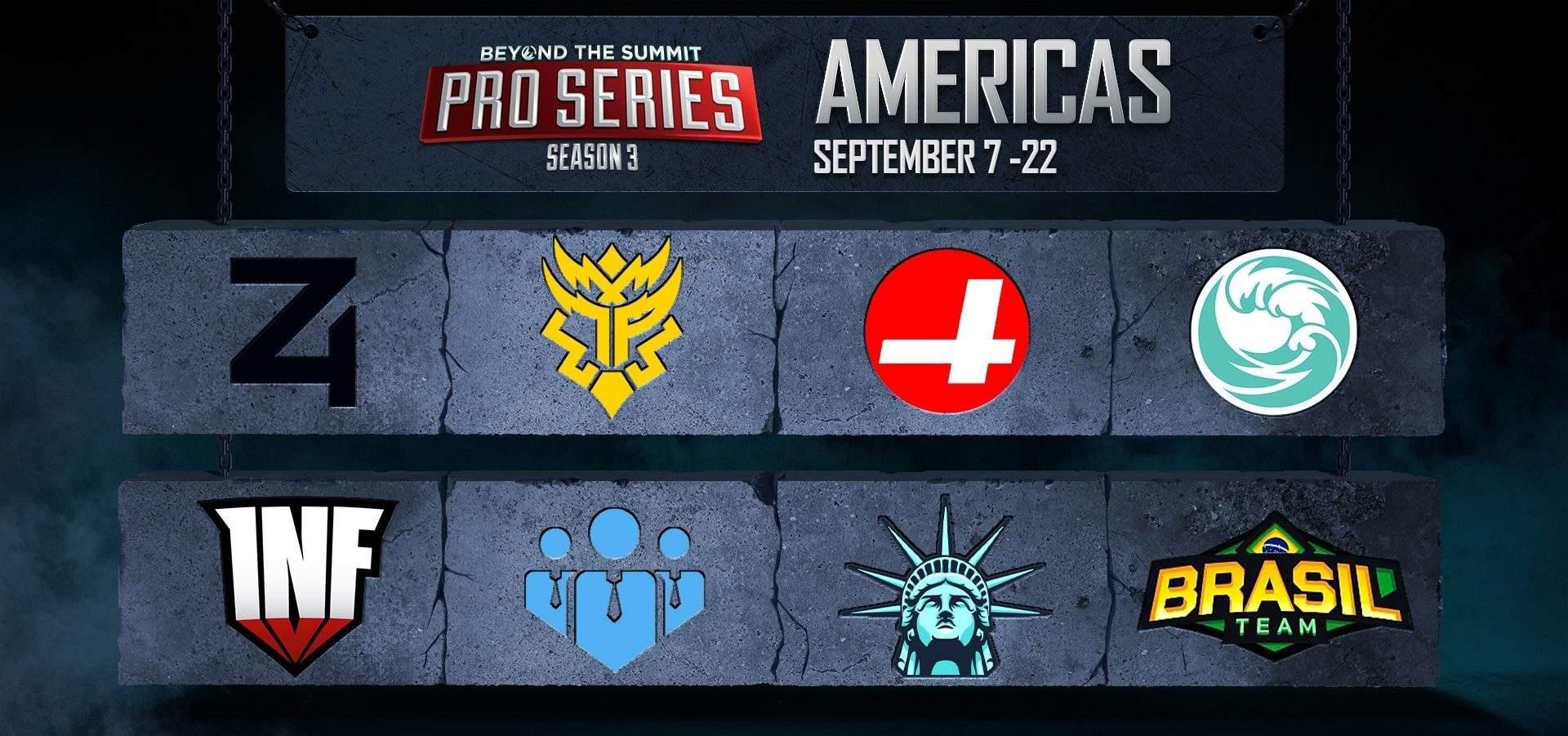 DOTA 2 Bts Pro Series: Americas