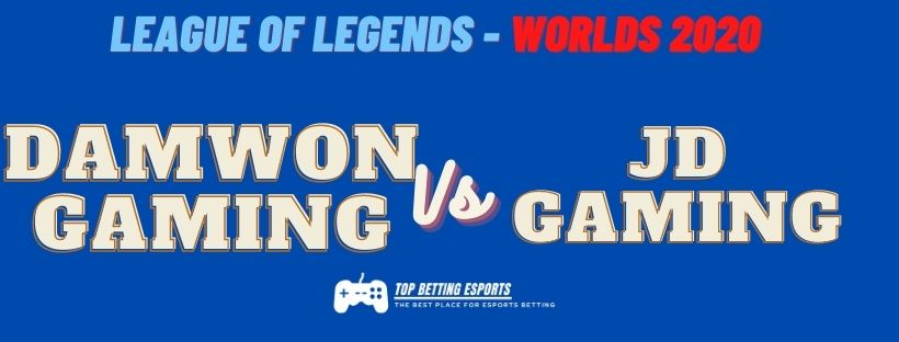 LOL Worlds prediction 2020 DAMWON GAMING  vs JD GAMING