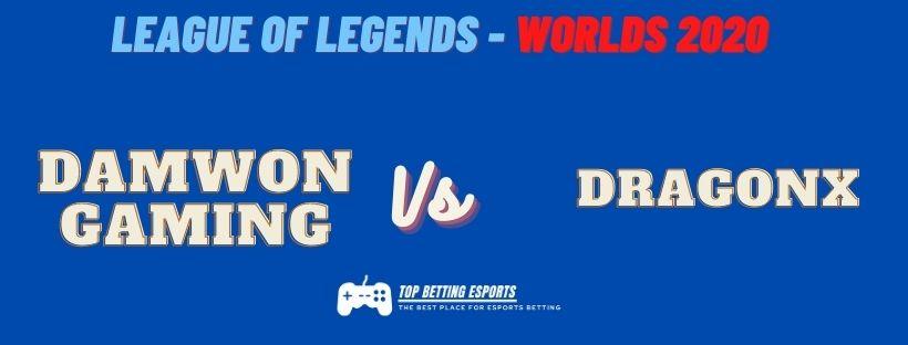eSports Betting Tips: Damwon Gaming vs DRX prediction