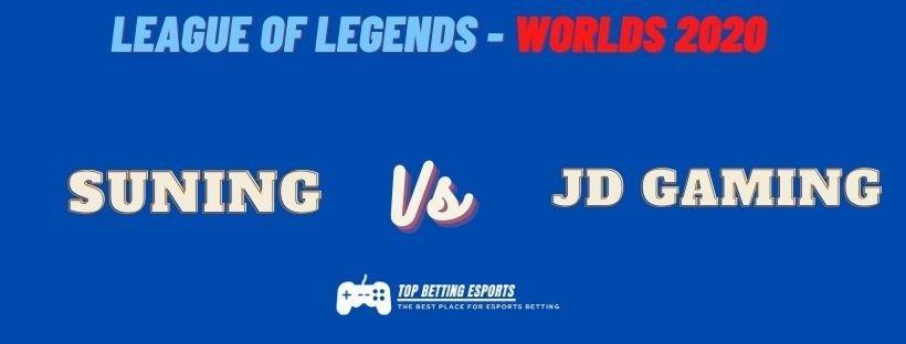 eSports Betting Tips Suning Gaming vs JD Gaming