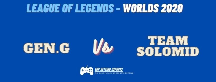 eSports Betting tips Team Solomid vs Gen.G