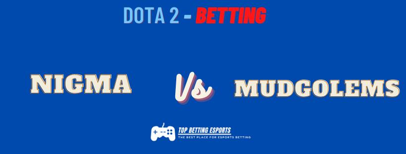 Dota 2 prediction Nigma vs Mudgolems