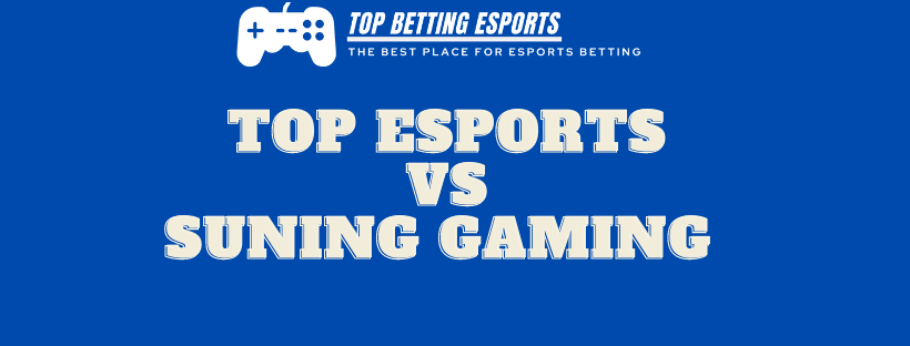 League of Legends Top Esports Vs Suning Gaming prediction