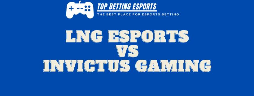 League of Legends Prediction LNG Esports Vs Invictus Gaming