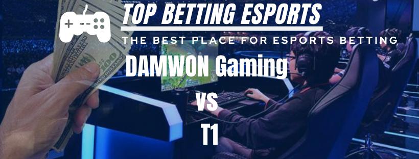 LCK Prediction DAMWON Gaming vs T1