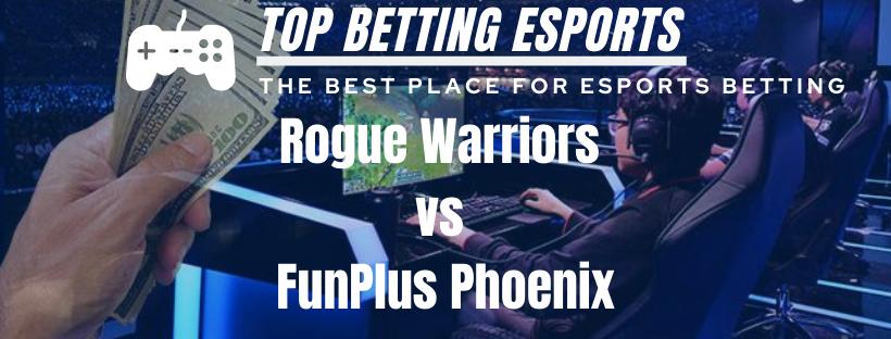 League of Legends LPL Rogue Warriors vs FunPlus Phoenix