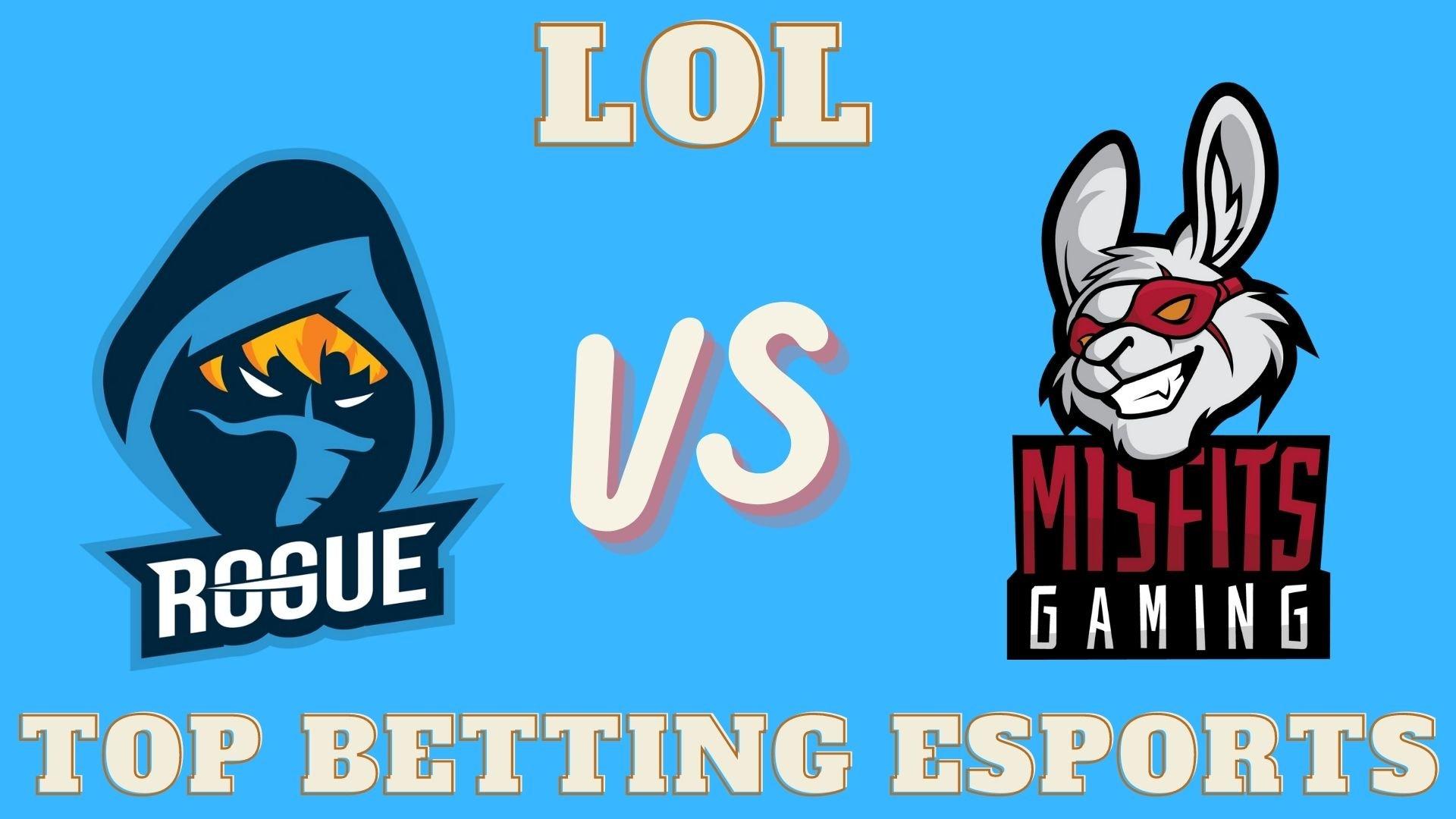 LEC Summer 2021 Rogue vs Misfits Gaming prediction