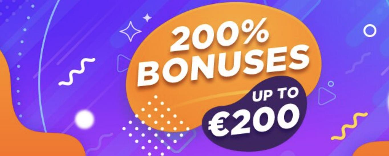 Only in February 200% deposit bonus with GGBet
