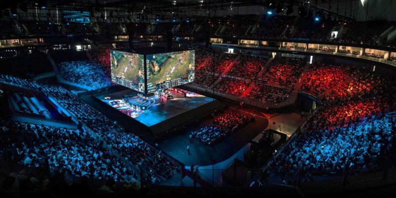 Fans want to attend an in-person eSports event