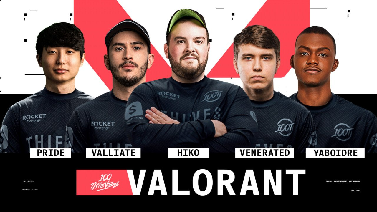 VALORANT Betting 100 thieves vs NRG eSports
