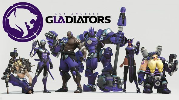 Overwatch team: Los Angeles Gladiators