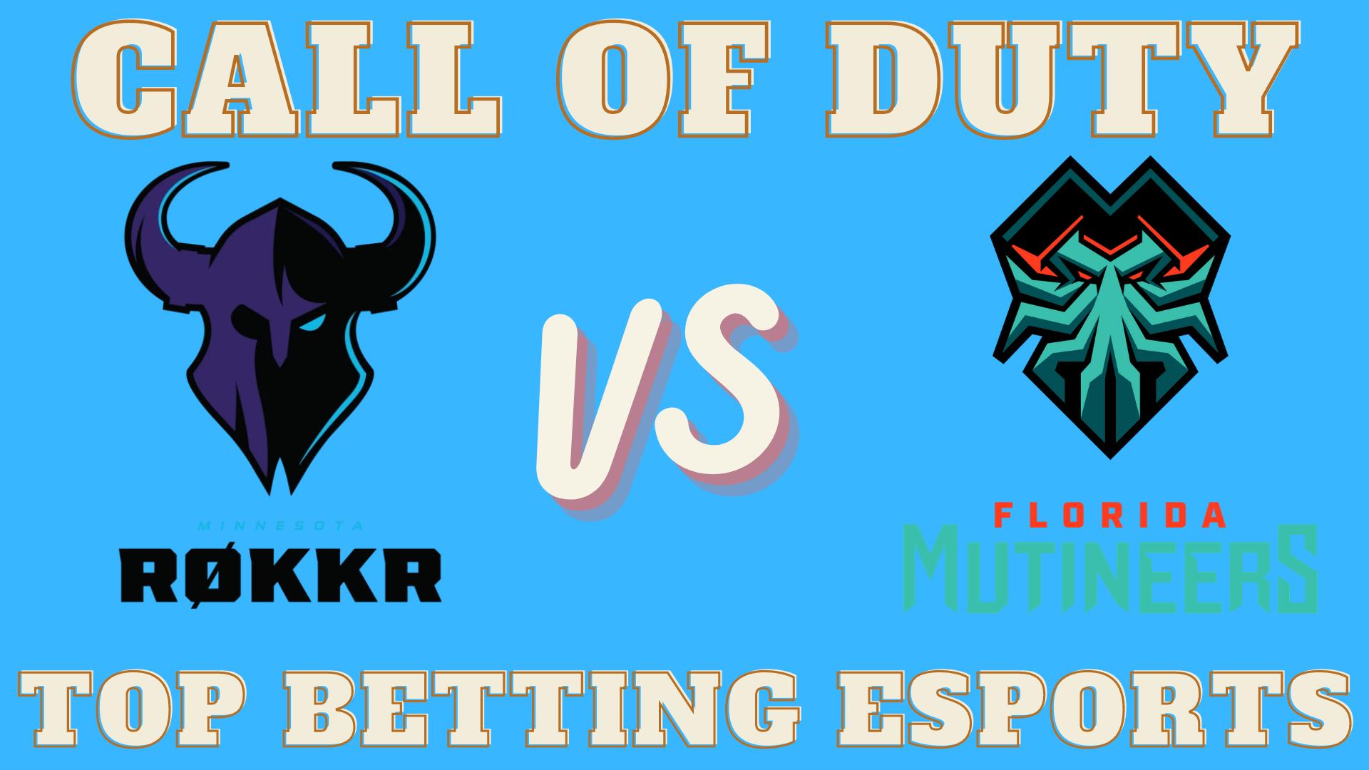 COD Minnesota Rokkr vs Florida Mutineers Betting prediction