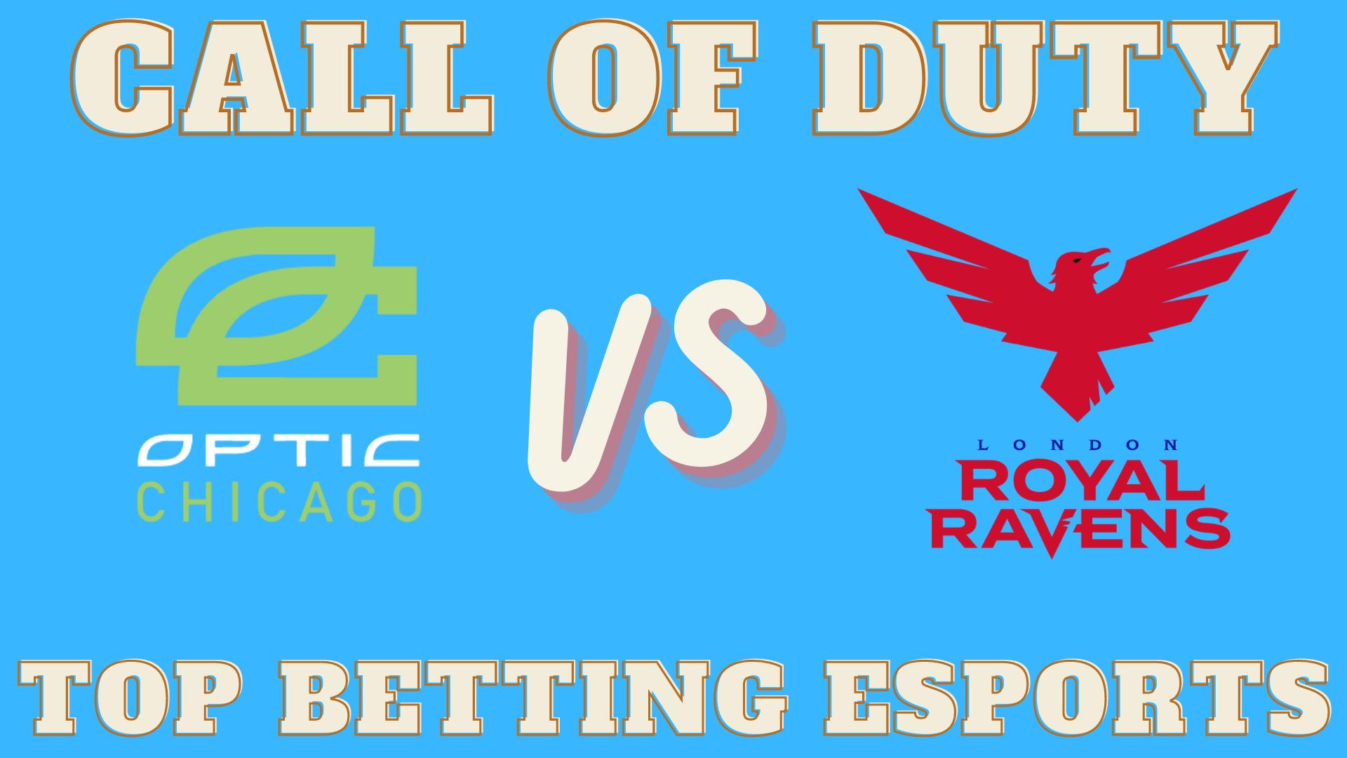 Optic Chicago vs London Royal Ravens Betting Prediction