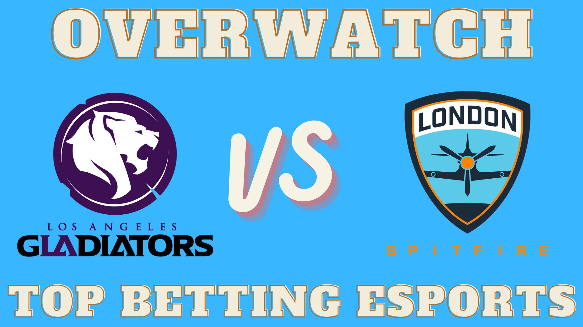 Los Angeles Gladiators vs London Spitfire Prediction