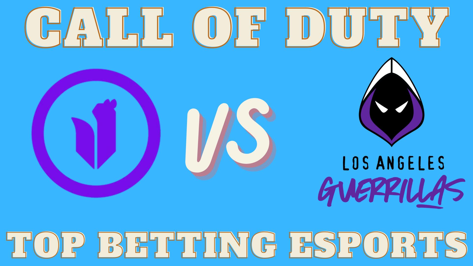 COD Toronto Ultra vs LA Guerrillas Betting prediction