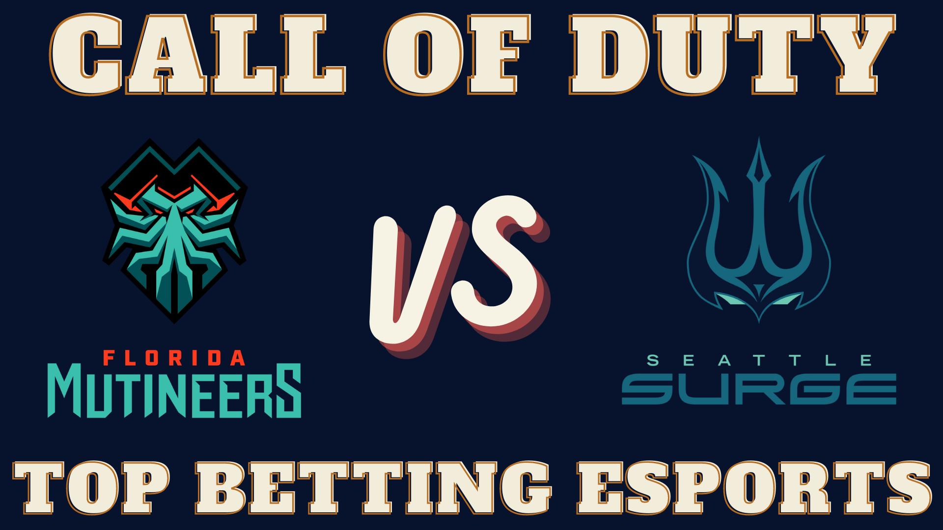 COD Florida Mutineers vs Seattle Surge Betting prediction