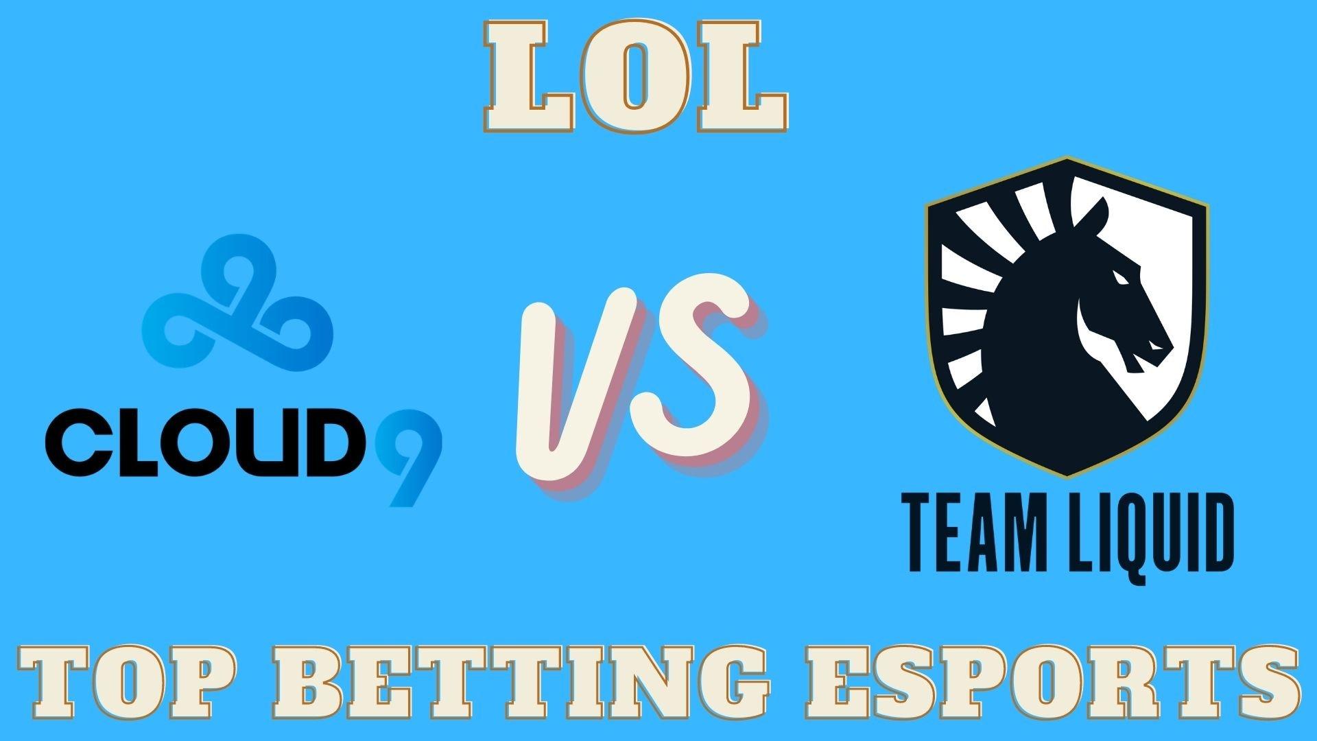 LCS Cloud9 vs Team Liquid Betting prediction