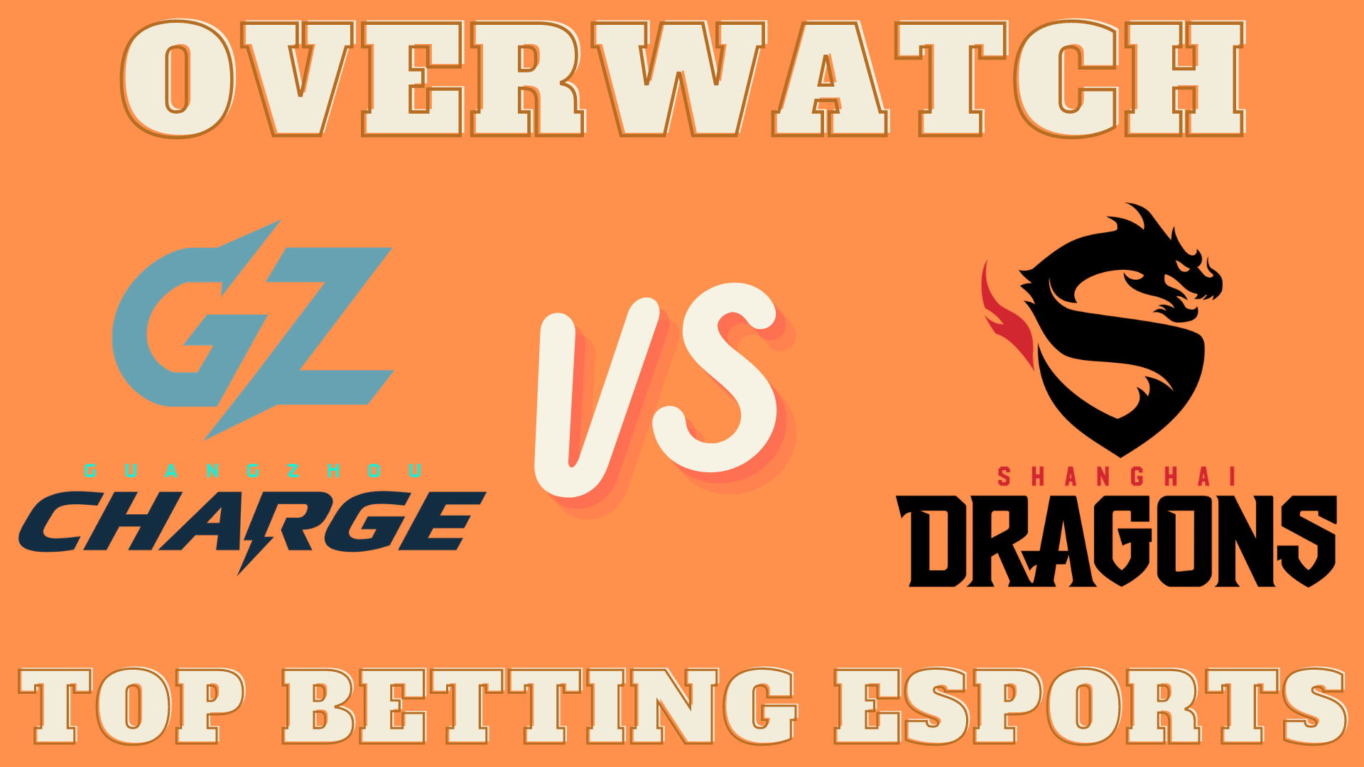 Overwatch League Guangzhou Charge vs Shanghai Dragons betting prediction