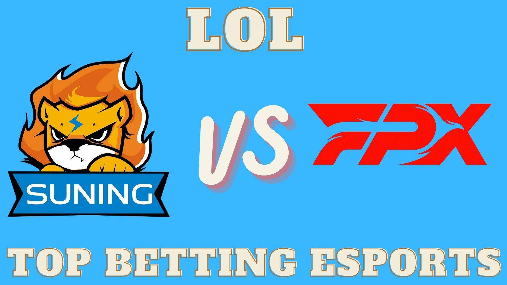 LOL betting prediction Suning vs FPX