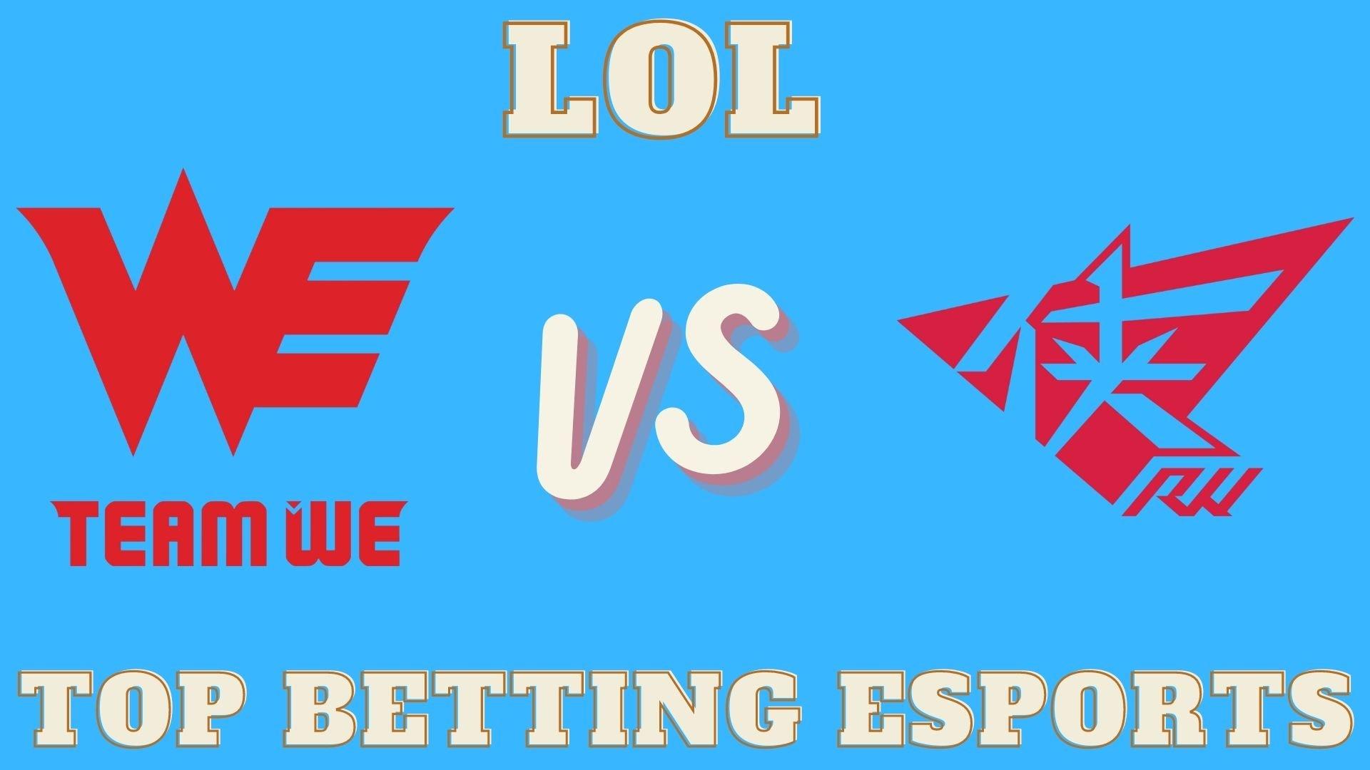 LOL betting Team WE vs Rogue Warriors prediction