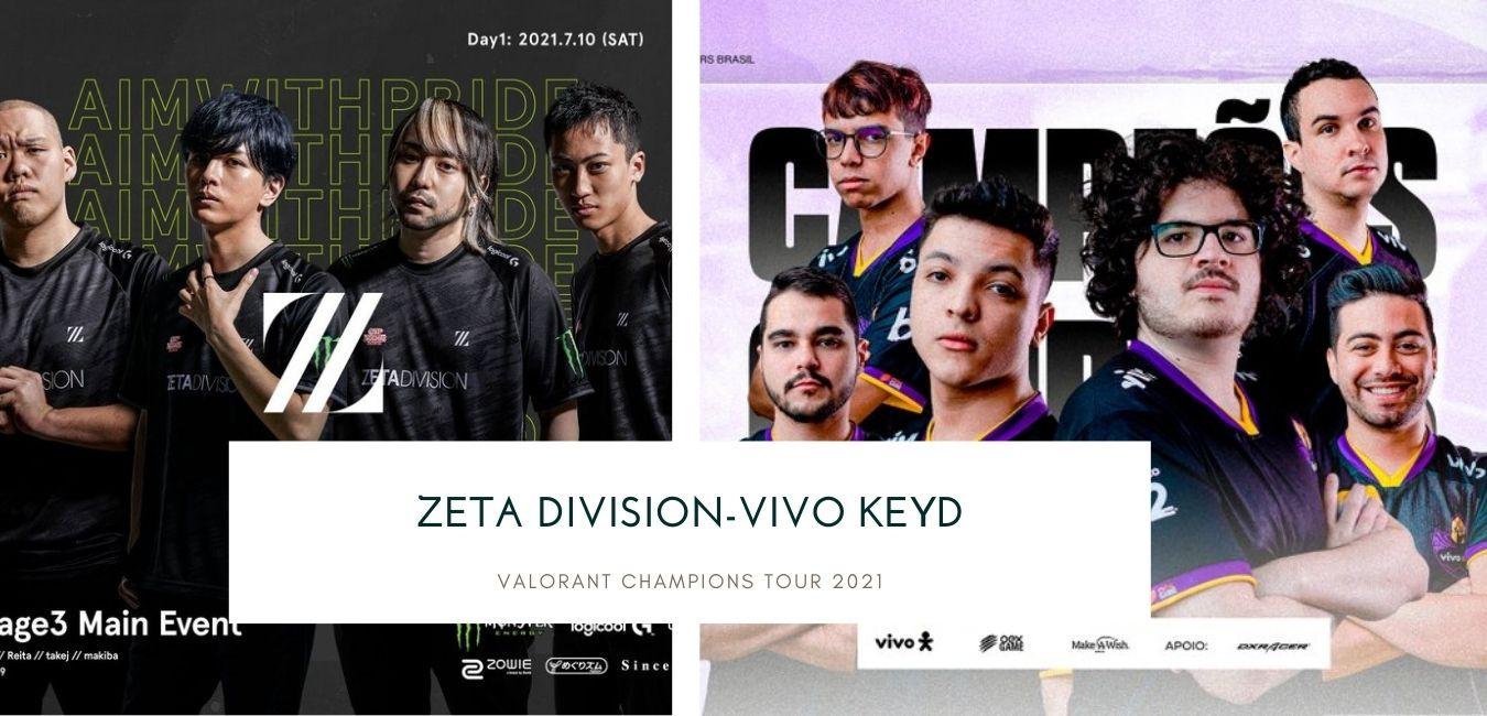 Valorant Master Zeta Division-Vivo Keyd