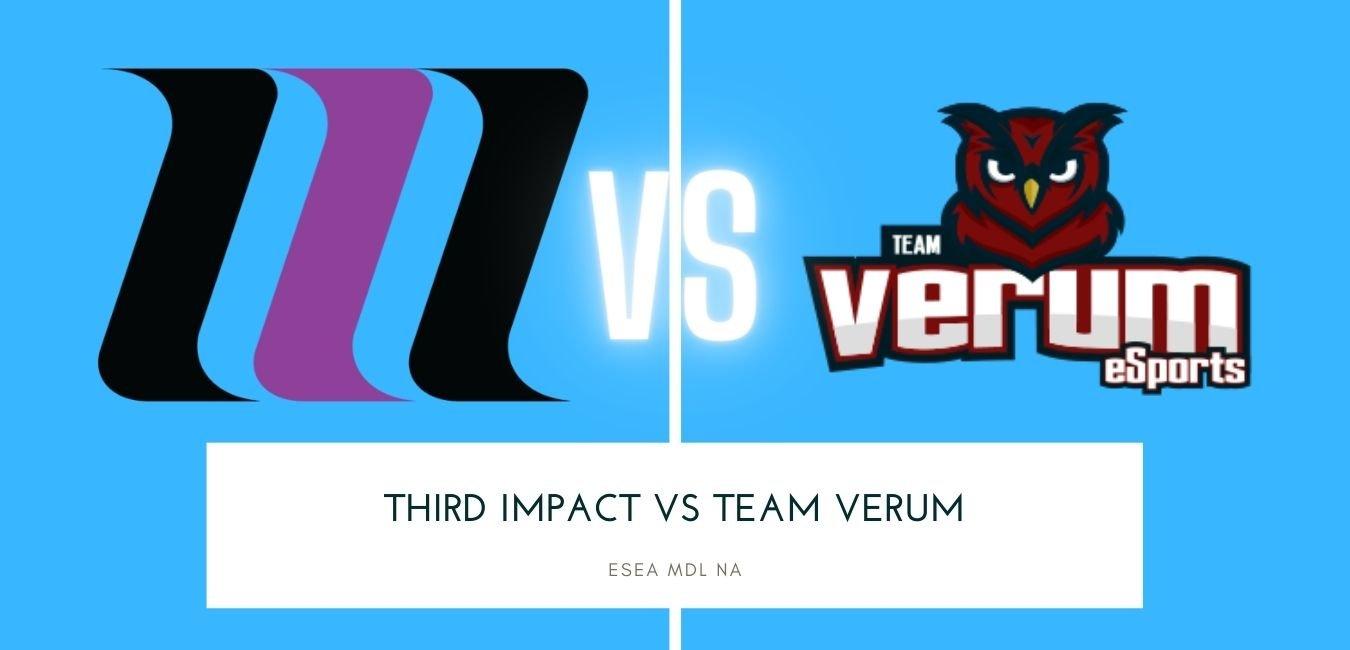 CS:GO betting Third Impact vs Team Verum