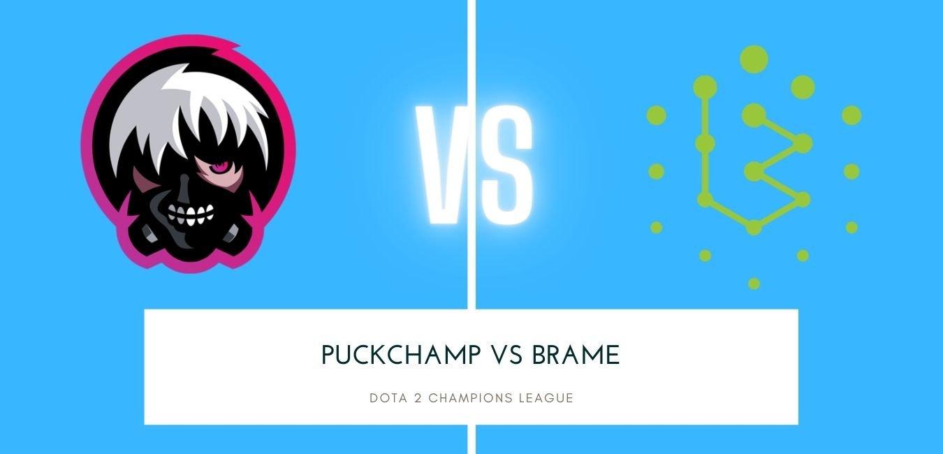 Dota 2 Betting Puckchamp vs Brame