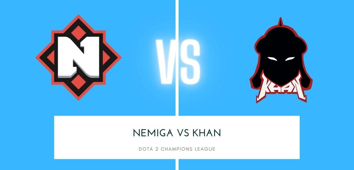 Dota 2 Betting Nemiga vs Khan