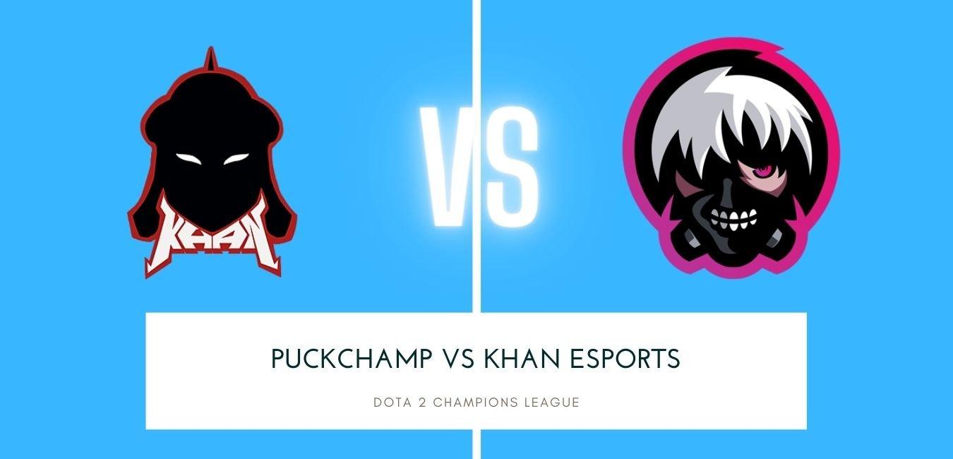 Dota 2 betting PuckChamp vs Khan eSports