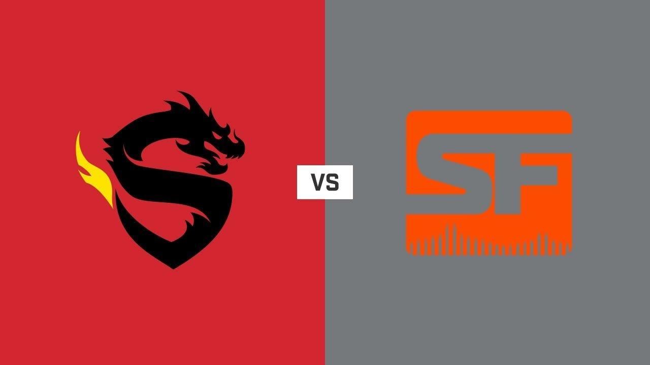 Overwatch playoffs Shanghai Dragons vs San Francisco Shock