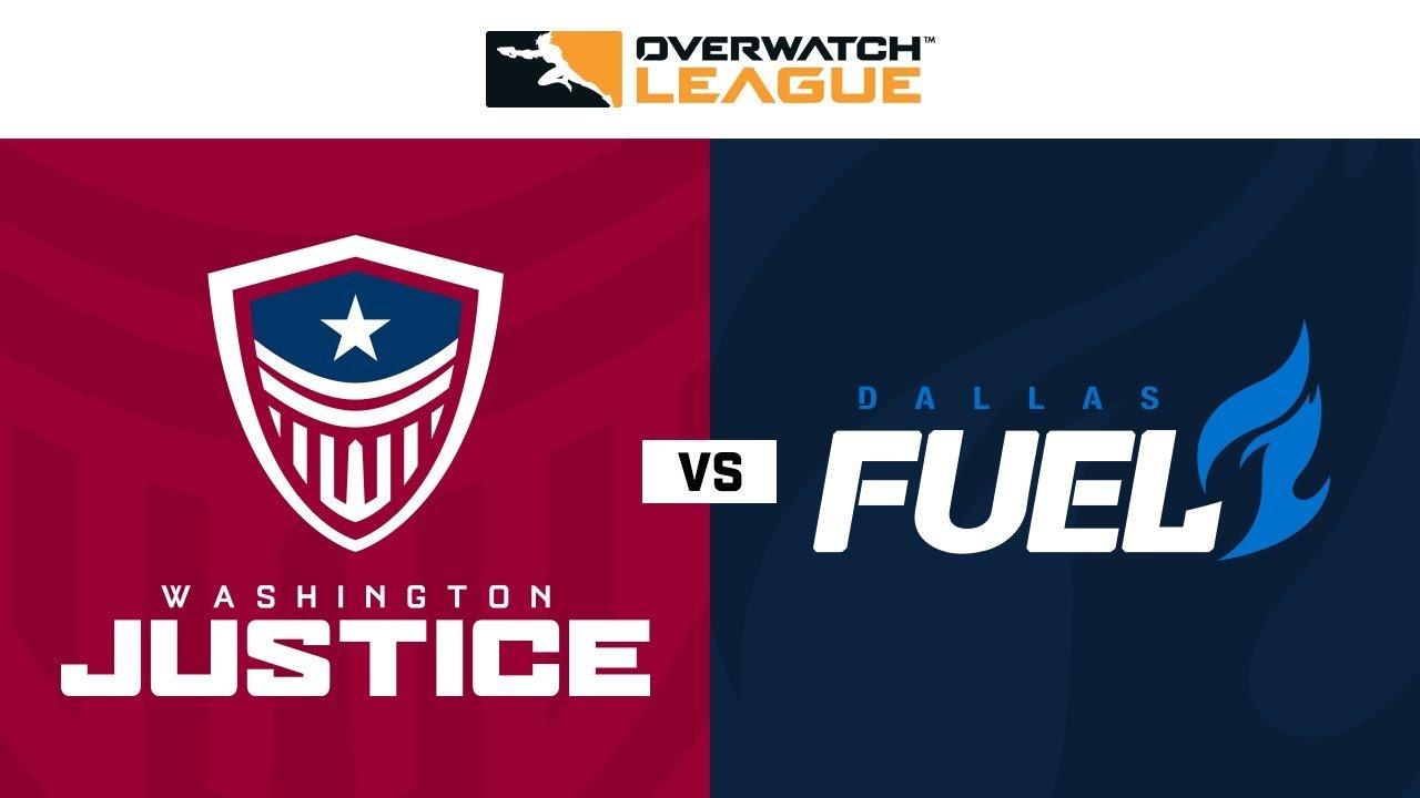 Overwatch Playoff Washington Justice vs Dallas Fuel