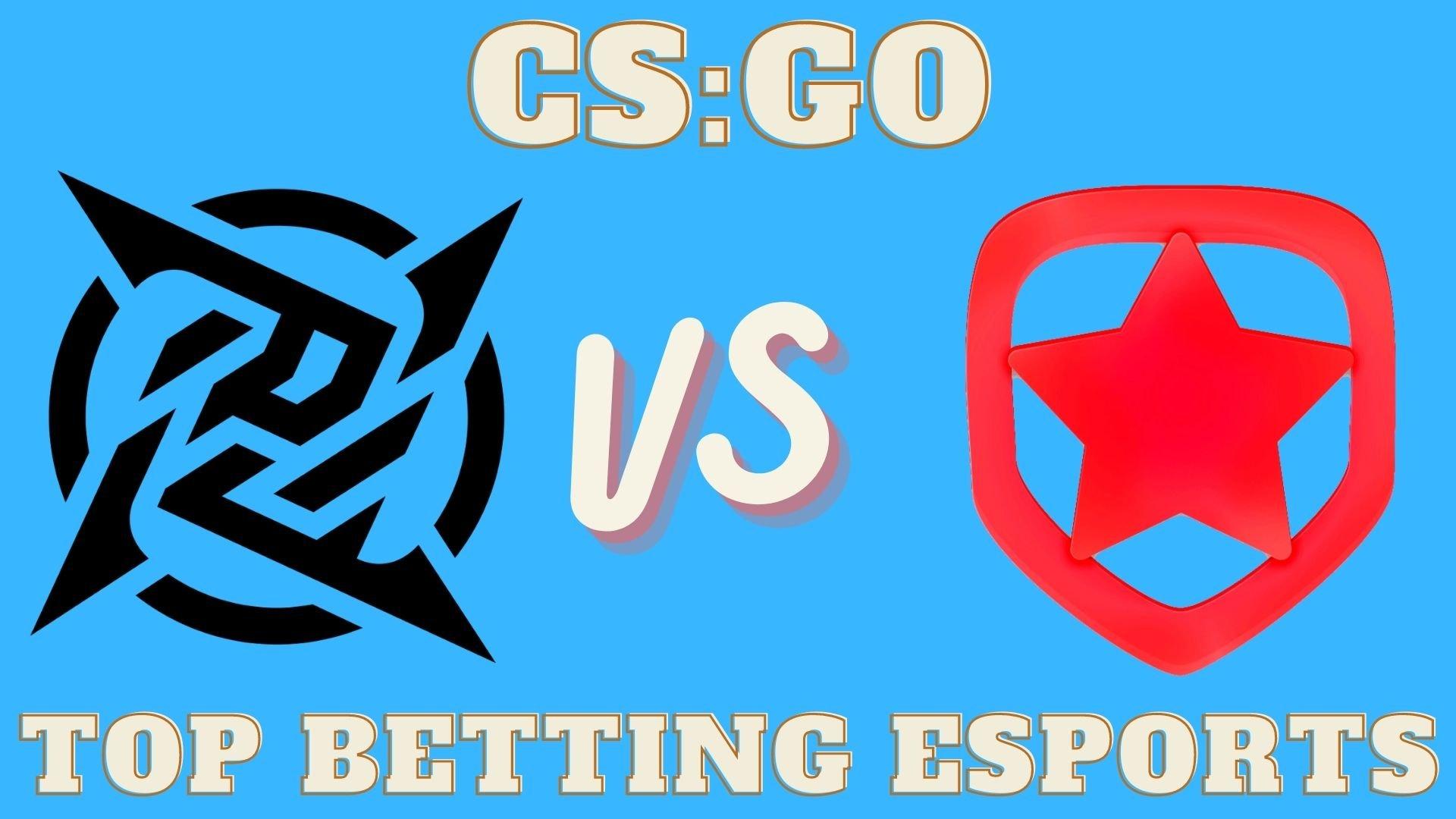 CS:GO Betting Gambit Esports vs Ninjas in Pyjamas
